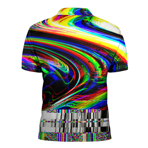 Мужская рубашка поло 3D  Фото 02, Оптические разводы