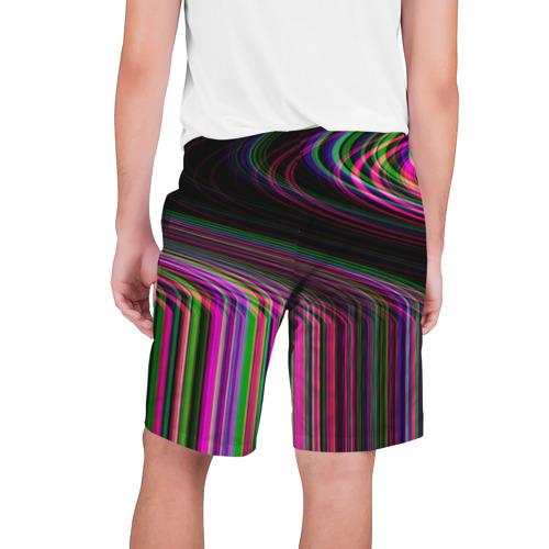 Мужские шорты 3D  Фото 02, Неоновый свет