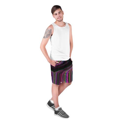 Мужские шорты 3D  Фото 03, Неоновый свет