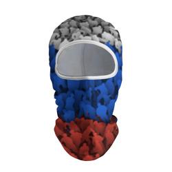 Флаг России из хоккеистов