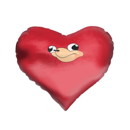 Подушка 3D сердце  Фото 01, Red