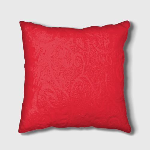 Подушка 3D  Фото 02, Red