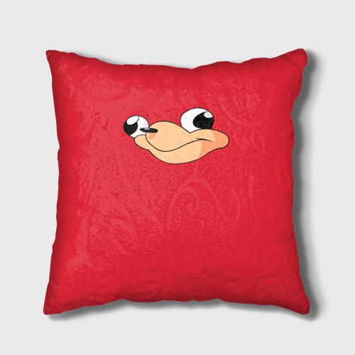 Подушка 3D  Фото 01, Red