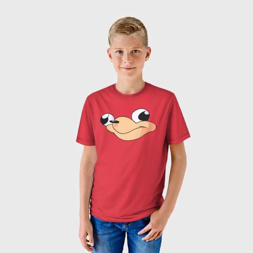 Детская футболка 3D Red
