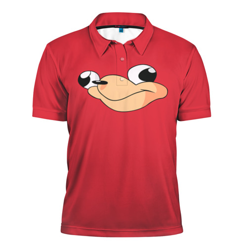 Мужская рубашка поло 3D  Фото 01, Red