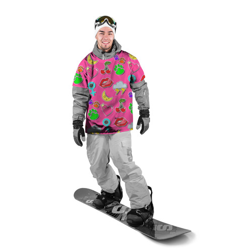 Накидка на куртку 3D  Фото 03, Вкусняшки