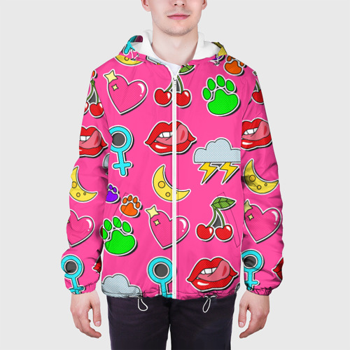 Мужская куртка 3D  Фото 04, Вкусняшки