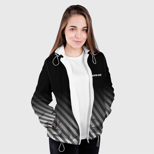 Женская куртка 3D  Фото 04, AMG