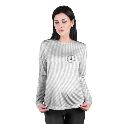 Женский лонгслив 3D для беременных  Фото 04, MERCEDES BENZ CARBON