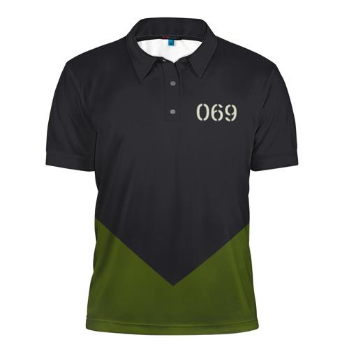 Мужская рубашка поло 3D  Фото 01, KSSMSS