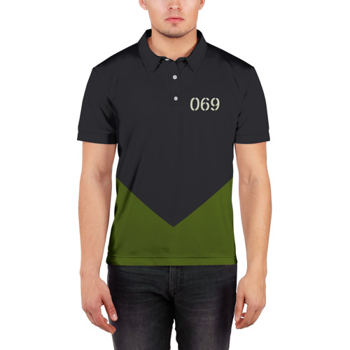 Мужская рубашка поло 3D  Фото 03, KSSMSS