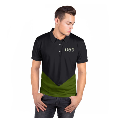 Мужская рубашка поло 3D  Фото 05, KSSMSS