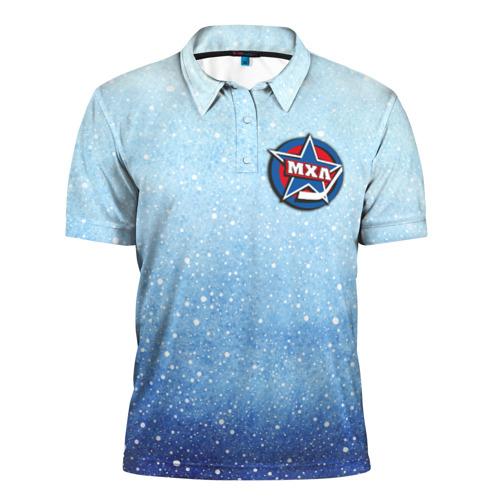 Мужская рубашка поло 3D  Фото 01, МХЛ