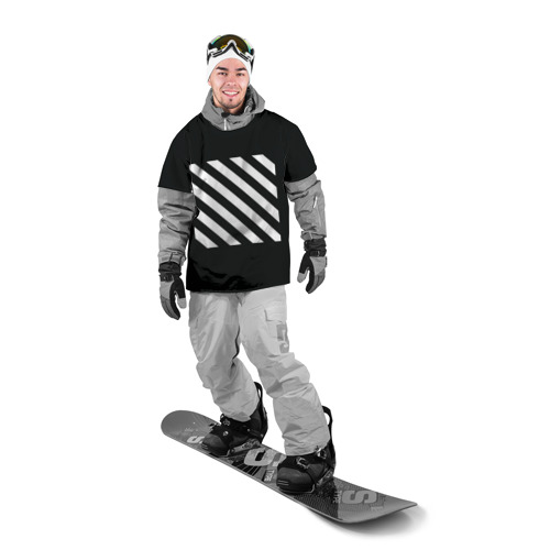 Накидка на куртку 3D  Фото 03, Stripes