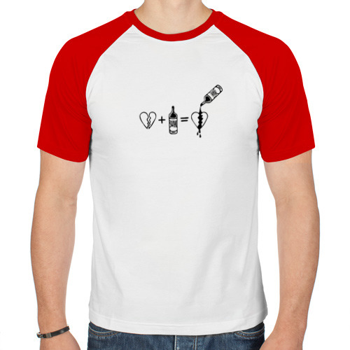 Мужская футболка реглан  Фото 01, Для душевных ран