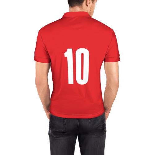 Мужская рубашка поло 3D  Фото 04, Движение вверх