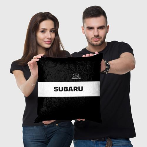 Подушка 3D  Фото 05, SUBARU SPORT