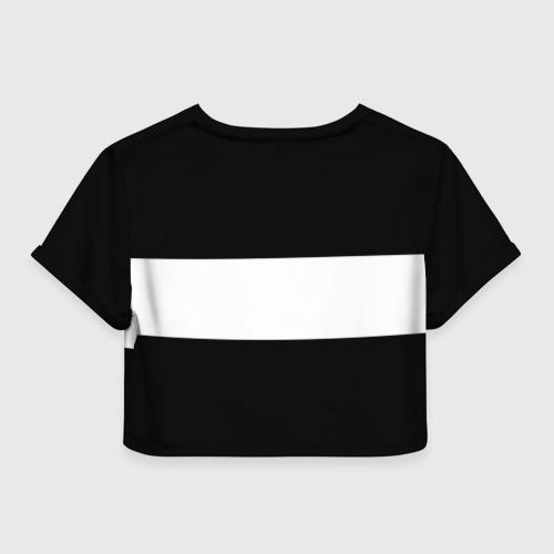 Женская футболка 3D укороченная  Фото 02, SUBARU SPORT
