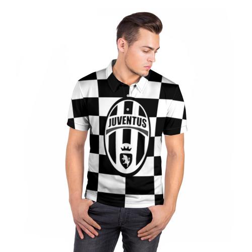 Мужская рубашка поло 3D  Фото 05, Juventus