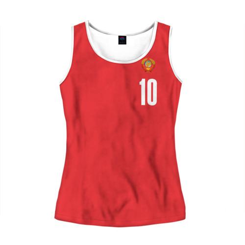 Женская майка 3D Сборная СССР по баскетболу