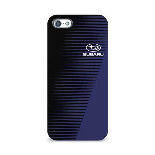 Чехол для Apple iPhone 5/5S 3D  Фото 01, SUBARU SPORT
