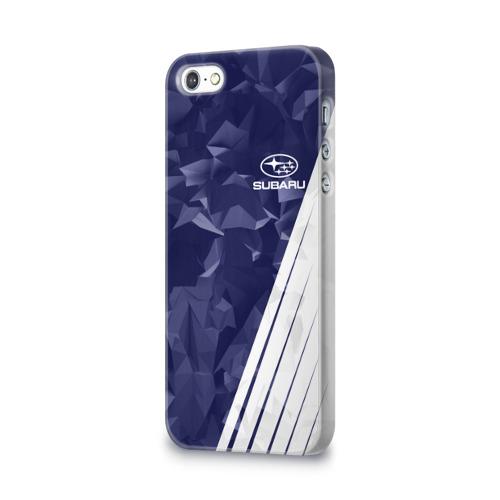 Чехол для Apple iPhone 5/5S 3D  Фото 03, SUBARU SPORT
