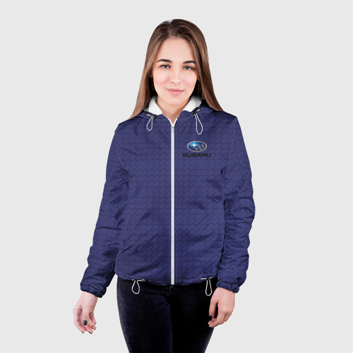 Женская куртка 3D  Фото 03, SUBARU SPORT