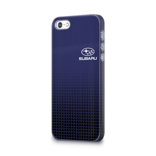 Чехол для Apple iPhone 5/5S 3D  Фото 03, SUBARU SPORT