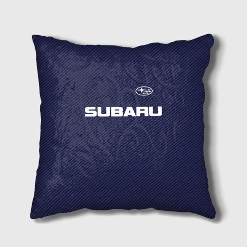 Подушка 3D  Фото 01, SUBARU CARBON