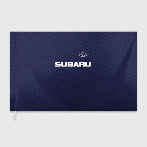 Флаг 3D SUBARU CARBON Фото 01
