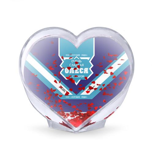 Сувенир Сердце  Фото 02, Очень сладкая Олеся