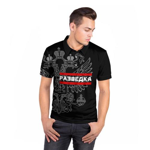 Мужская рубашка поло 3D  Фото 05, Разведка