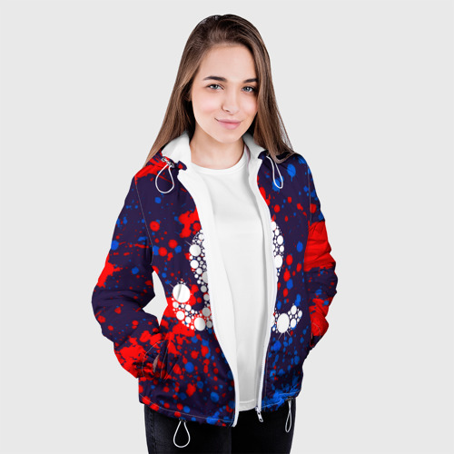 Женская куртка 3D  Фото 04, Лев