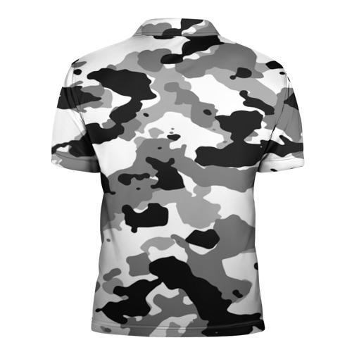 Мужская рубашка поло 3D  Фото 02, FC Juventus Camouflage