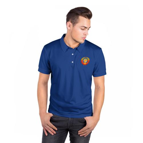 Мужская рубашка поло 3D  Фото 05, Олимпиада - 72