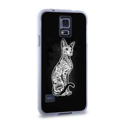 Чехол для Samsung Galaxy S5 силиконовый  Фото 02, cat