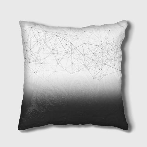 Подушка 3D  Фото 02, Хаски Geometry