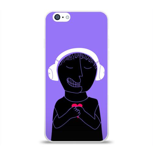 Чехол для Apple iPhone 6 силиконовый глянцевый  Фото 01, Boy