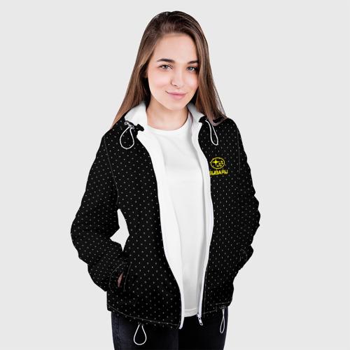 Женская куртка 3D  Фото 04, SUBARU SPORT  b