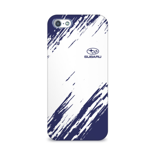 Чехол для Apple iPhone 5/5S 3D  Фото 01, SUBARU SPORT