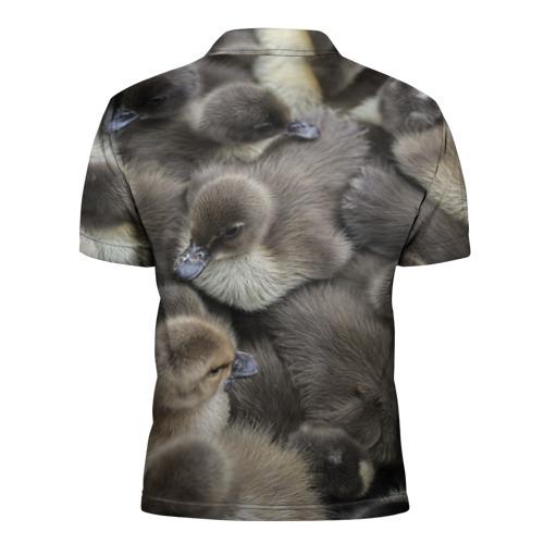 Мужская рубашка поло 3D  Фото 02, Пушистые утята