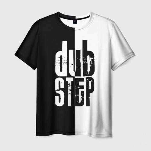 Мужская футболка 3D Dubstep