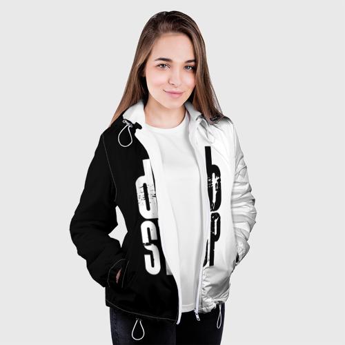 Женская куртка 3D  Фото 04, Dubstep