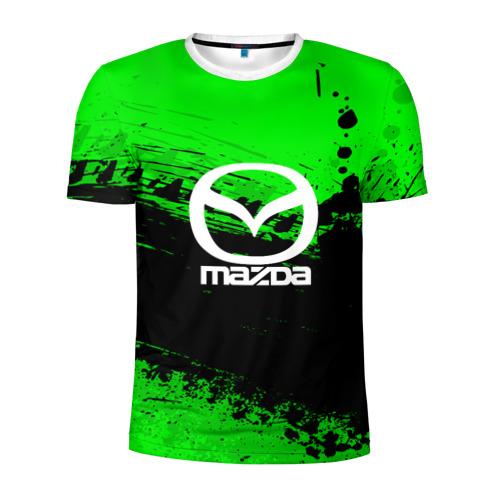 Мужская футболка 3D спортивная  Фото 01, Mazda sport