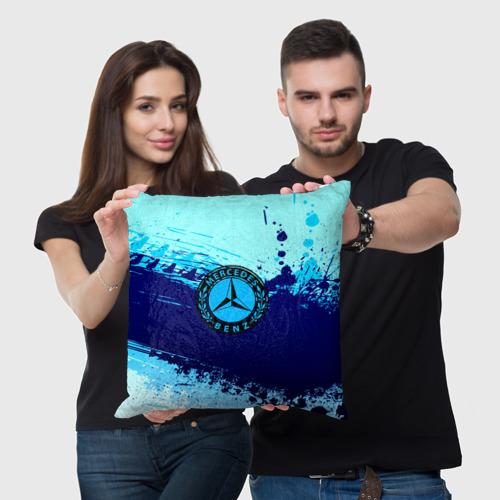 Подушка 3D  Фото 03, Mercedes sport