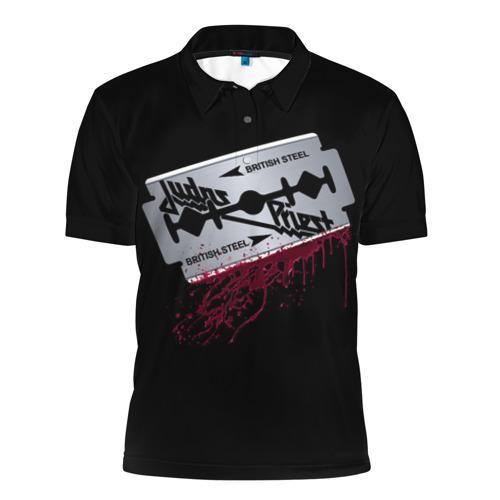Мужская рубашка поло 3D  Фото 01, Judas Priest