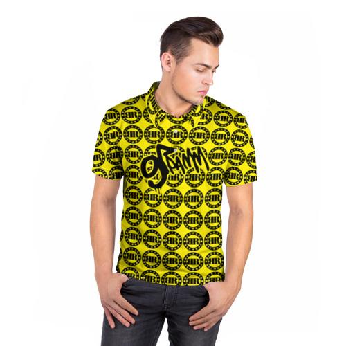 Мужская рубашка поло 3D  Фото 05, Я прост хочу слушать 9 грамм