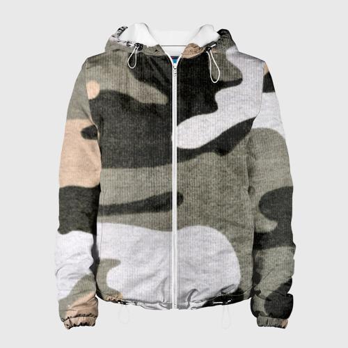 Женская куртка 3D  Фото 01, Хакки цвет
