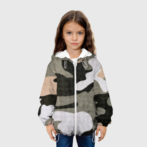 Детская куртка 3D  Фото 04, Хакки цвет