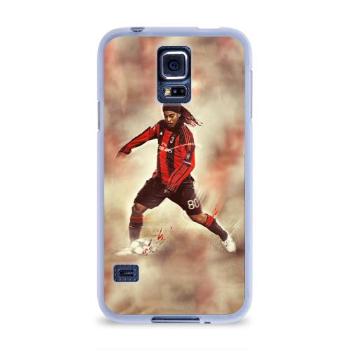 Чехол для Samsung Galaxy S5 силиконовый  Фото 01, Ronaldinho